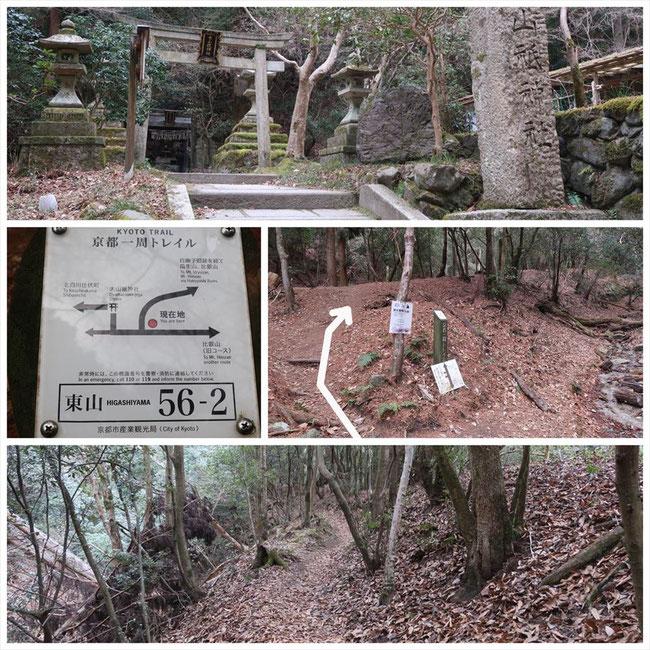 京都トレイル東山コース哲学の道→ケーブル比叡 東山56-2