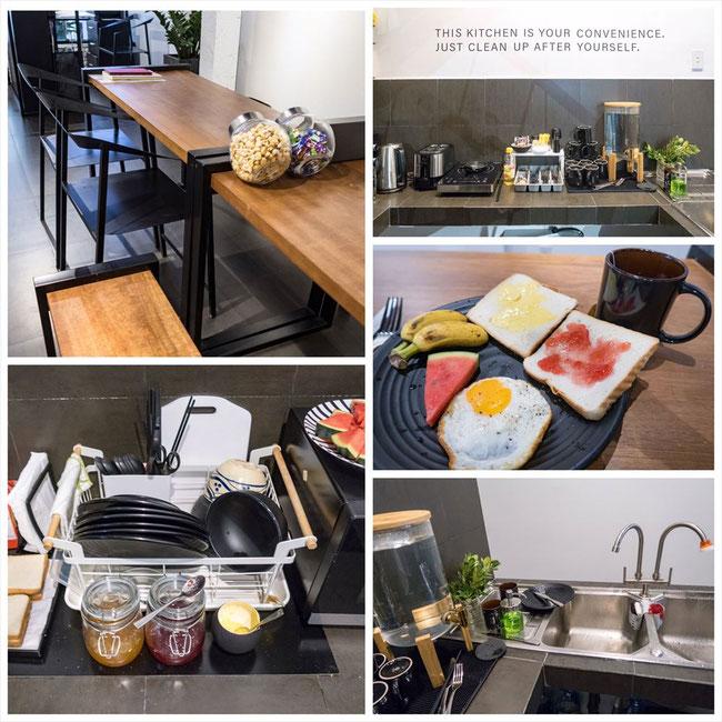 Goo Hostel SaiGon(ゲストハウス)朝食