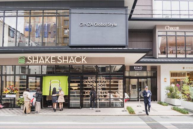 Shake Shack(シェイクシャック)京都四条烏丸店 外観