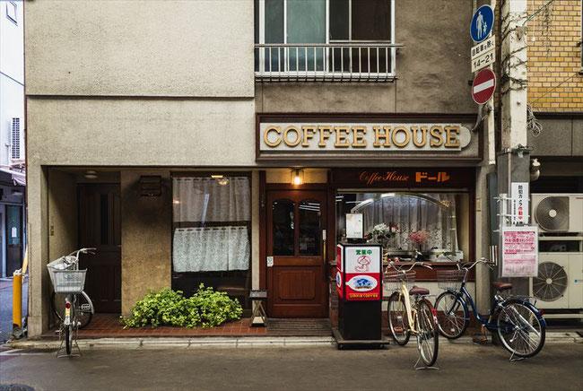 京都昭和喫茶「ドール」三条会商店街
