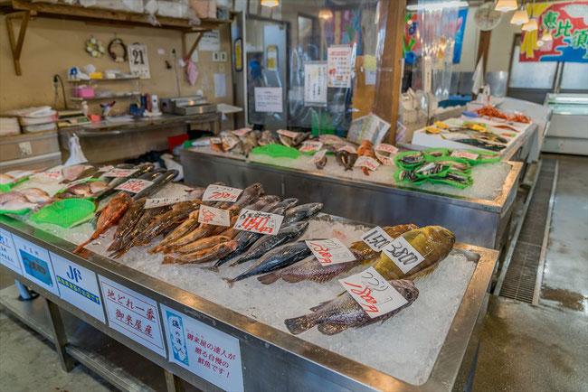 鳥取県の御来屋漁港