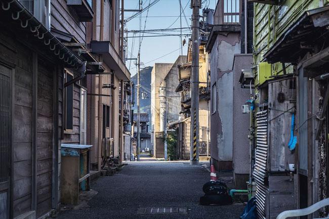 兵庫県竹野の町