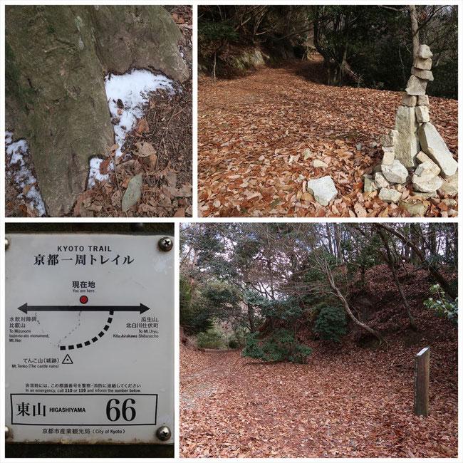 京都トレイル東山コース哲学の道→ケーブル比叡 東山66