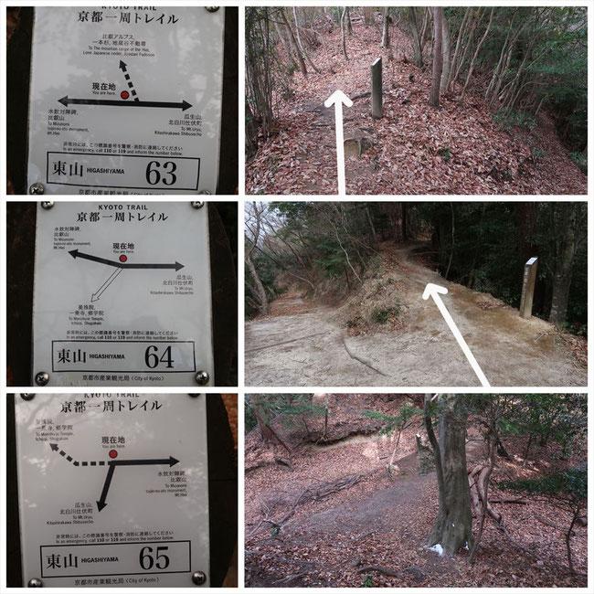 京都トレイル東山コース哲学の道→ケーブル比叡 東山64