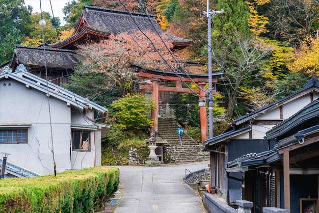 吉野水分神社の鳥居