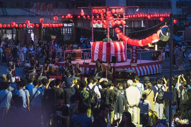 伏見稲荷大社・宵宮祭盆踊り