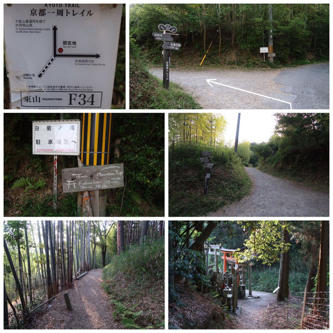 京都トレイル東山コース伏見稲荷大社