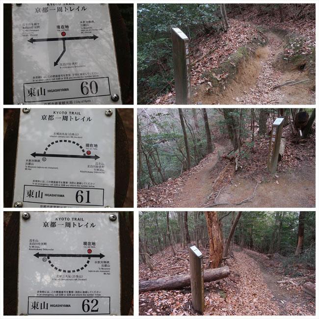 京都トレイル東山コース哲学の道→ケーブル比叡 東山60