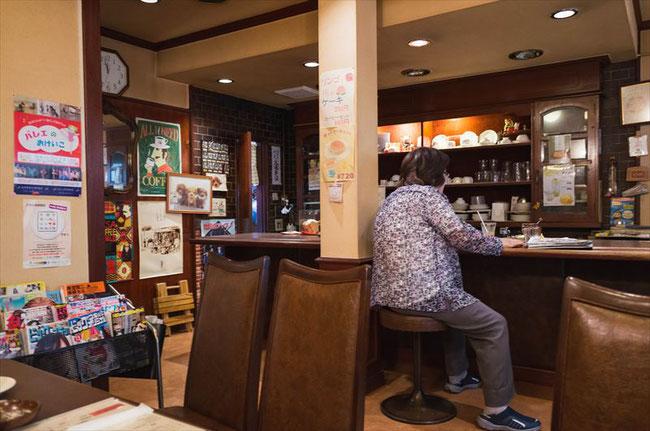 京都昭和レトロ喫茶「ドール」