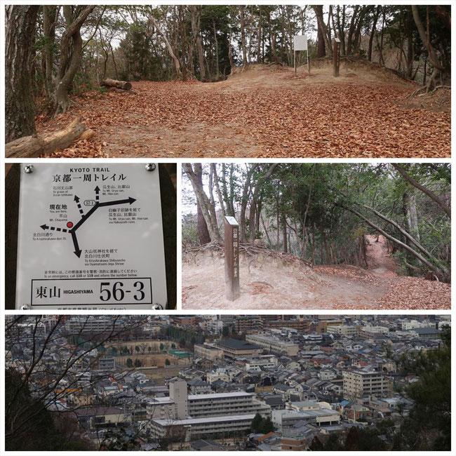 京都トレイル東山コース哲学の道→ケーブル比叡 東山56-3