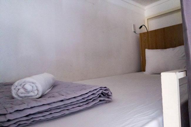 (ホーチミン)onetel hostel(ゲストハウス)ドミトリー