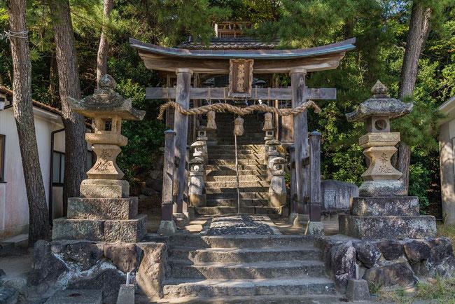 鳥取県岩美Free!の聖地巡礼荒砂神社