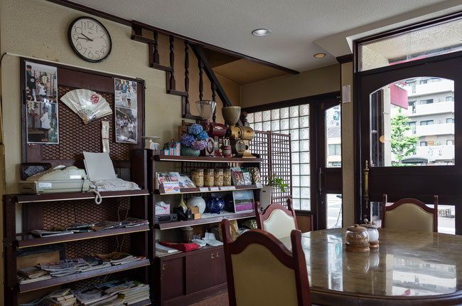 京都レトロ昭和喫茶店「コーヒーボゴタ」