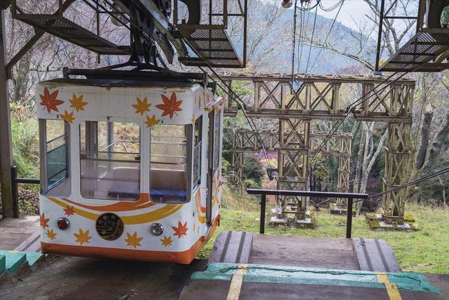 奈良県吉野山ロープウェイ