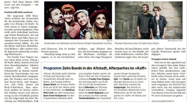 Thurgauer Zeitung 31.08.2016