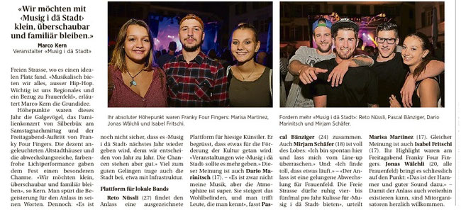 Thurgauer Zeitung 5.09.2016