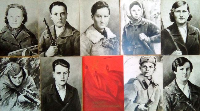 Комсомольцы - участники Великой Отечественной войны