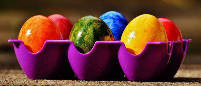 Frohe Ostern und erholsame Ferien!