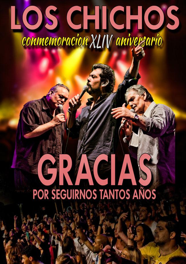 Los Chichos agradecen todos estos años de carrera musical por su 44 aniversario