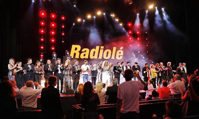 Gracias a los artistas y al público que nos ha acompañado un año más en la Gala de Premios Radiolé