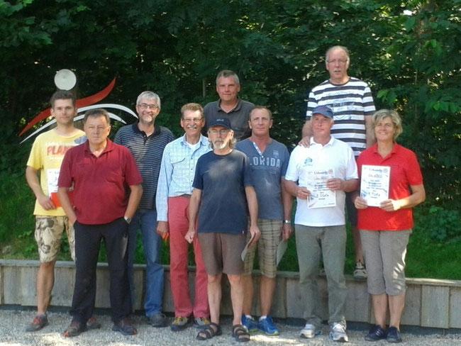 10 mal erste Plätze beim Bourricot/Warzen 7 2015
