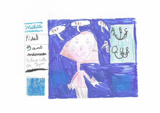 mathilde 9 ans