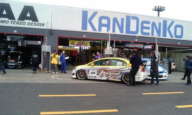 2008スーパー耐久ST4J's RACING ADVAN FD2