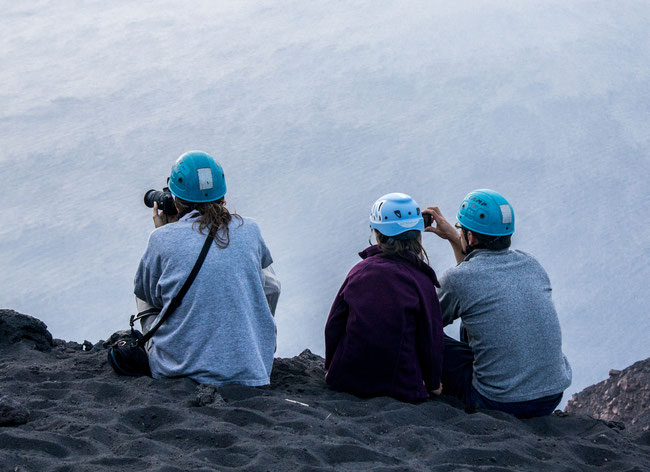Gipfel des Stromboli