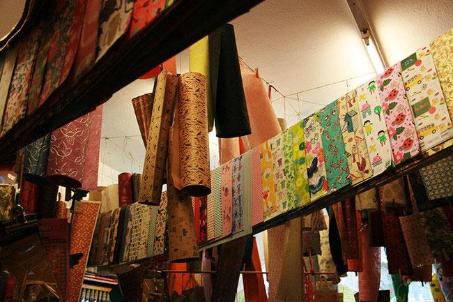 Kathrins Papier im Papierladen Mesecke