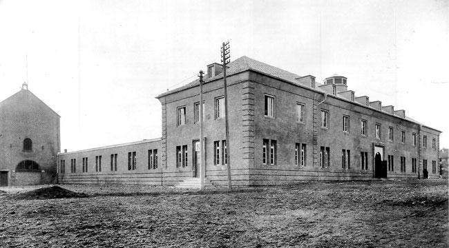 Das Ledigeheim 1925 nach der Fertigstellung