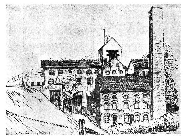 Grube Langenberg - Quelle: Heimatblätter 1936