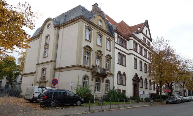 Gebäude der ehemaligen Bergschule in der Goethestraße (c) Heinz Maas