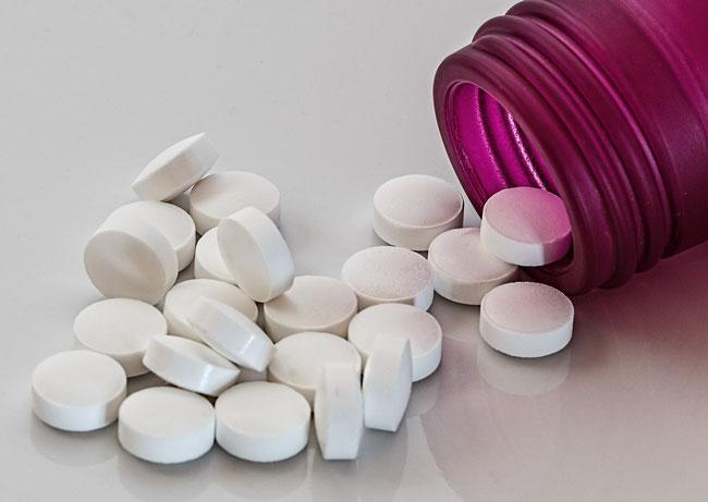 Des médicaments ne sont efficaces que dans des cas limités de troubles de la déglutition. Source: stevepb CC0