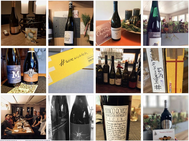 In the #Winewichteln Season Thousands of bottles of Wines are sent to total strangers