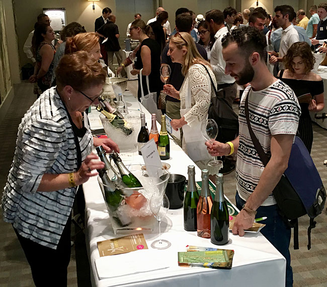 Tasting glorious Fizz at the Sparkling Wine Festival