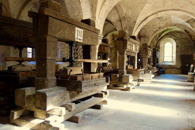 Eberbach Abbey - wine presses