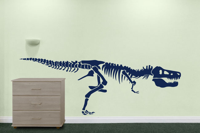 Prehistoric Dinosaur wall art decal sticker for kid's bedrooms.
