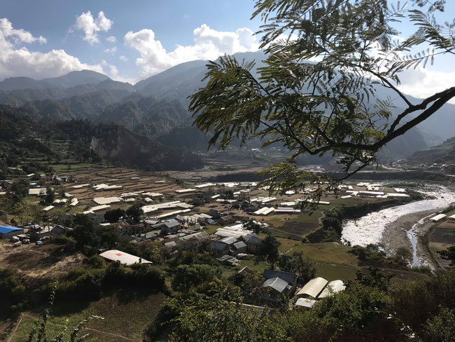 ウオータープロジェクトが計画されているBUNGMATIのKURUWAN(DHUKUCHAD)地域