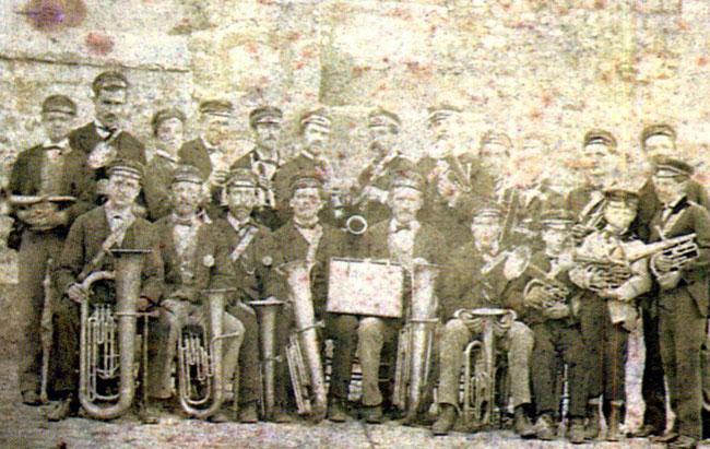 La Fanfare en 1876