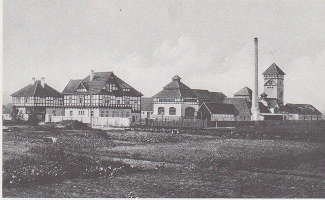 1912 entstand in der Grauhofstraße der Schlachthof. Dort entstand auch später eine schmucke freundliche Siedlung.