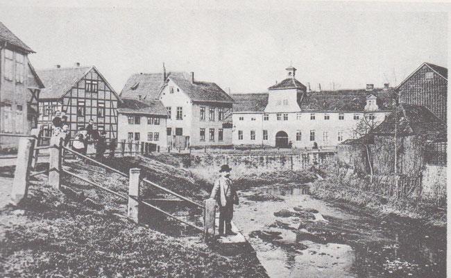 Schleusenstraße in der Auguststadt.
