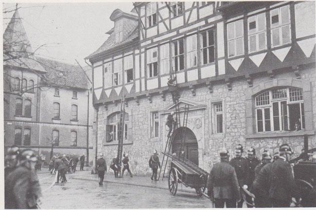Damalige Bürgerschule, in einem ehemaligen Hofbedienstetenhaus. Später wurde die landwirtschaftliche Schule dort untergebracht.