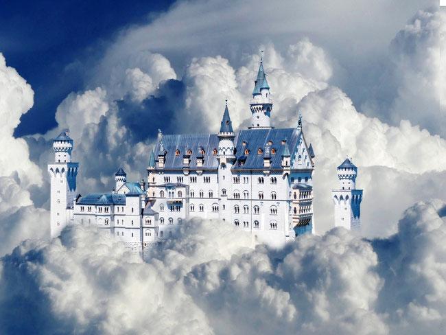 Sollen wir Gott lieben, weil er für uns ein Wolkenschloss bereithält? Ist das Liebe?