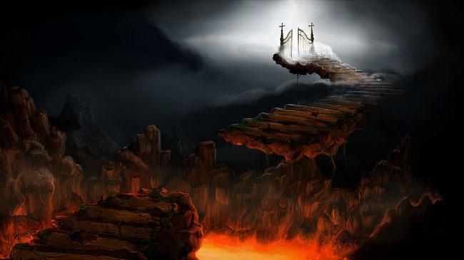 Sollten der Wunsch, in den Himmel zu kommen und die Furcht vor der Hölle der Grund für unseren Glauben sein?