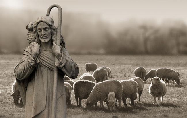 """Jesus ist der große """"Moses"""", der Hirte der Schafe Gottes"""