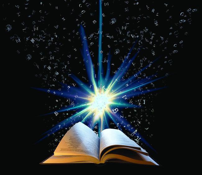 Die Lichtherrlichkeit der Bibel scheint in die Nacht der Welt hinein. Sie ist der Lebenssame Gottes, der jegliche Finsternis beseitigt.