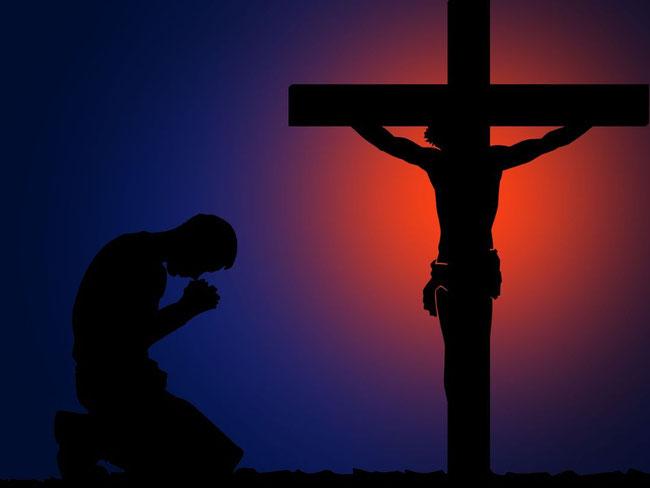 Um aus der Finsternis herauszukommen, muss man freiwillig zu Jesus ans Kreuz kommen; denn er ist das Licht der Welt.