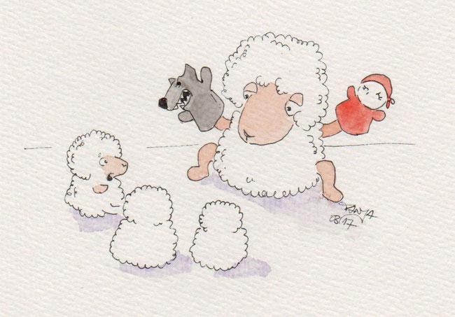 365-Tage-Doodle-Challenge - Stichwort: Puppe