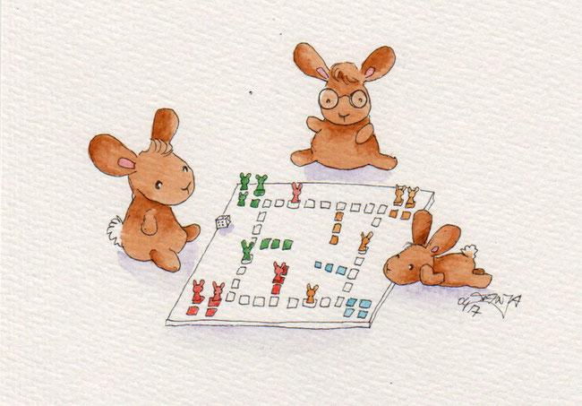 365-Tage-Doodle-Challenge - Stichwort: Brettspiel