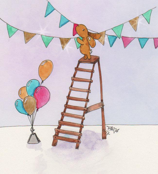 365-Tage-Doodle-Challenge - Stichwort: Wimpel